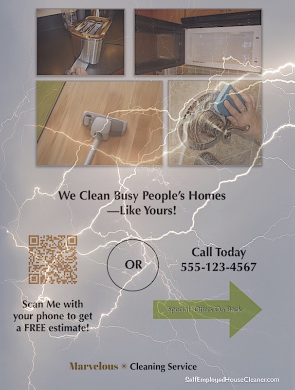 Supercharge Your Cleaning Business Flyers