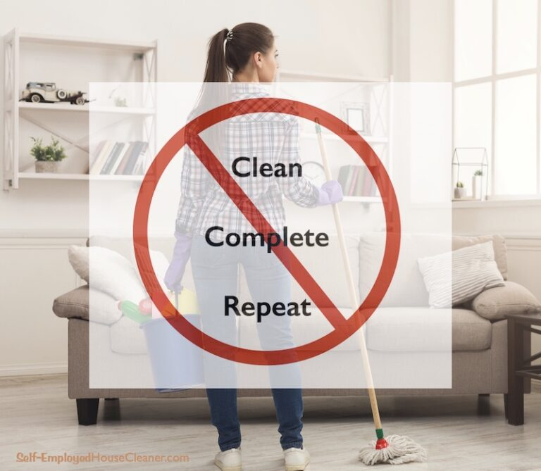 When You're Done Cleaning, You're Done